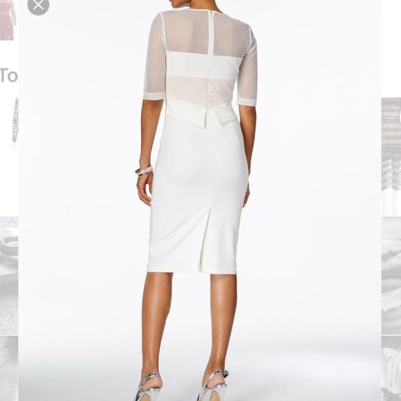 0f0606e7eb NWT jax black label sheath mesh pencil dress sz 6